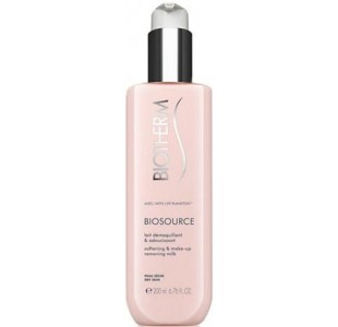 Biotherm Biosource Softening And Make-up Removing Milk 200ml