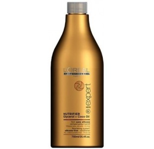 L'Oreal Nutrifier Glycerol + Coco Oil Silicone-Free Conditioner 750ml